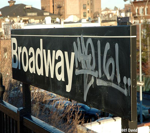 Broadway train station in Astoria