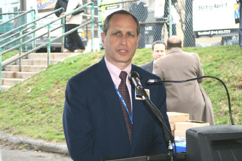 MTA CEO/Executive Director Elliot Sander