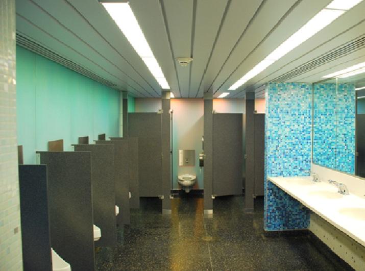 Renovated Men's Restroom In Penn Station